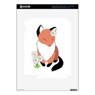 Fox Daisy iPad 3 Skins