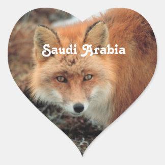 Fox de Arabia Saudita Colcomanias De Corazon