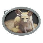 Fox de Argelia Fennec Hebilla De Cinturón