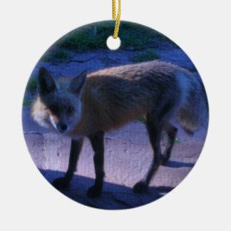 Fox de Colorado Ornamento Para Arbol De Navidad