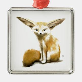 Fox de Fennec Adornos De Navidad