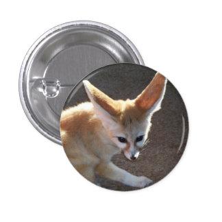 Fox de Fennec Pin Redondo De 1 Pulgada