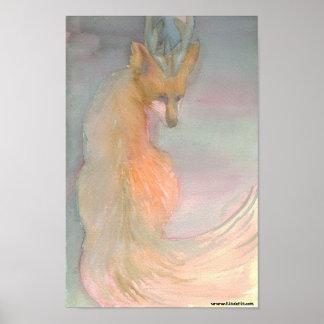 Fox de la anciano póster