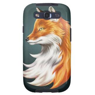 Fox de la magia - Caso móvil (galaxia S2 de Samsun Galaxy S3 Funda