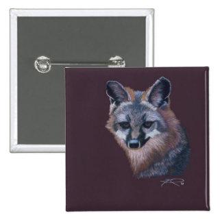 Fox de la montaña del arte del animal salvaje de C Pins