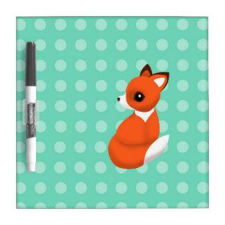 Fox de la polca tablero blanco