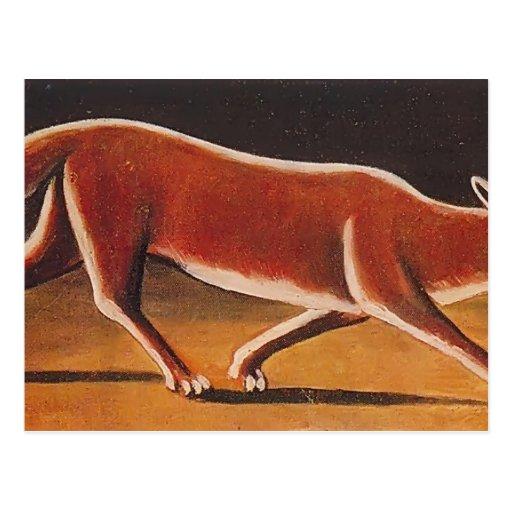 Fox de Niko Pirosmani- Tarjetas Postales