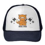 ¡Fox de Ninja! Con el gorra de Shurikens