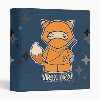 ¡Fox de Ninja! Con la carpeta de Shurikens