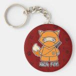 ¡Fox de Ninja! En llavero rojo
