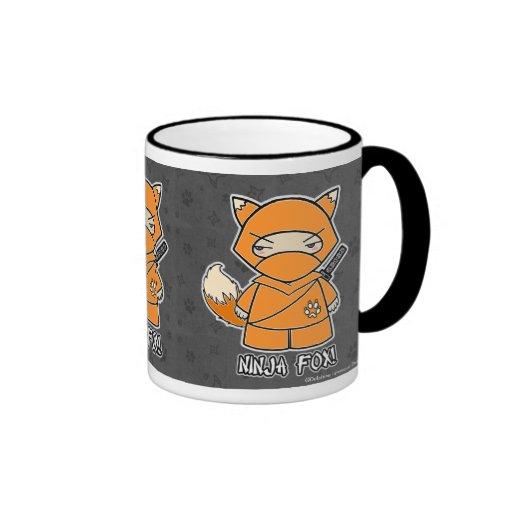 ¡Fox de Ninja! Taza