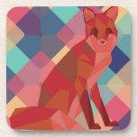 Fox de Origami Posavasos