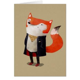 Fox de Smart Tarjeta De Felicitación