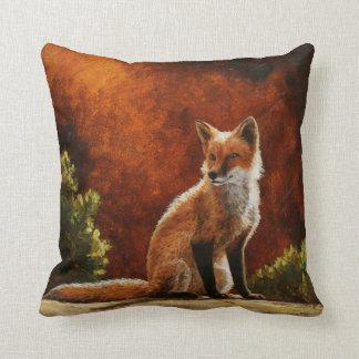 Fox de Sun Cojín