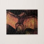 Fox de vuelo de Van Gogh (palo), todavía del vinta Rompecabezas
