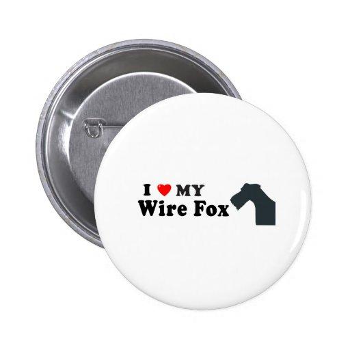 Fox del alambre pin