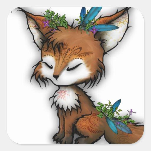 Fox del alcohol - Pegatina