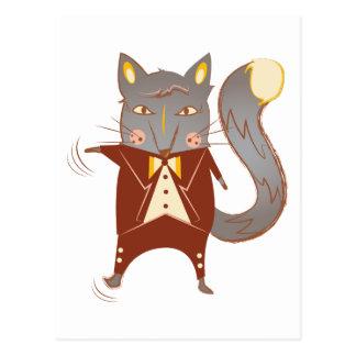 Fox del baile postales