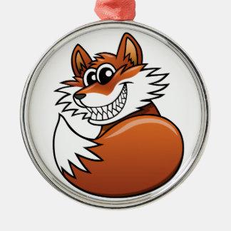 Fox del dibujo animado ornamentos de reyes