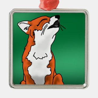 Fox del grito ornaments para arbol de navidad