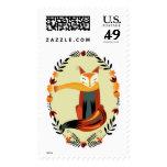 Fox del otoño sellos