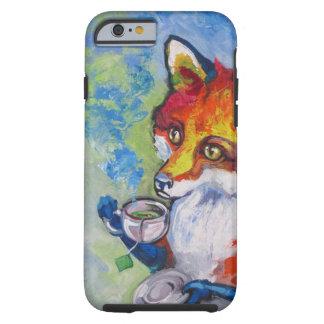 Fox del té funda de iPhone 6 tough