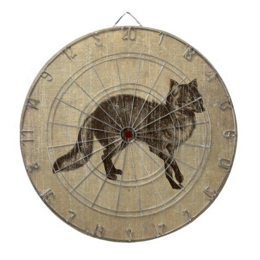 Fox. del vintage tabla dardos