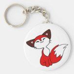 Fox delicioso llavero personalizado
