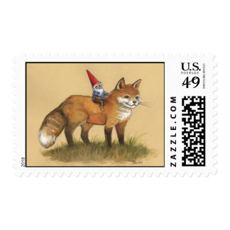 Fox delivery! postage