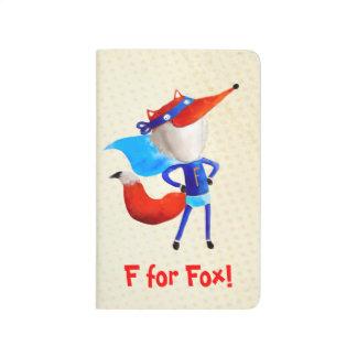 Fox estupendo cuadernos grapados