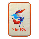 Fox estupendo fundas macbook air