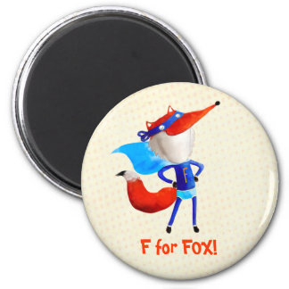 Fox estupendo iman