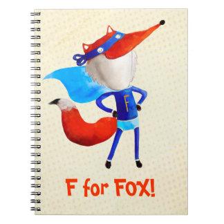 Fox estupendo libros de apuntes