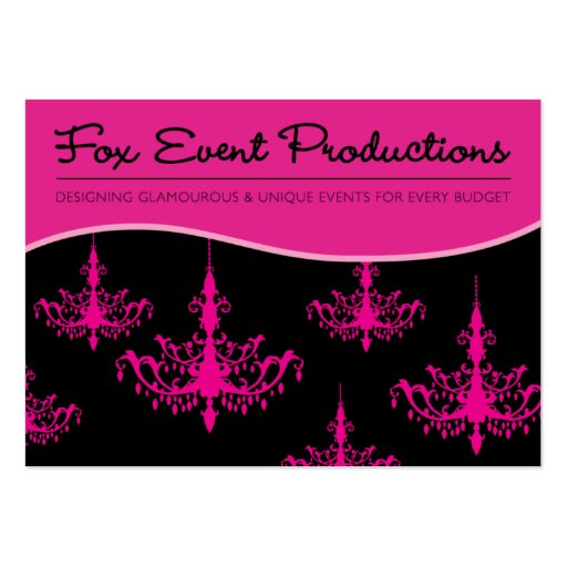 Fox Event Productions Business Cards