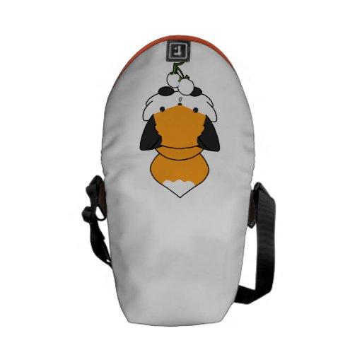 Fox excelente (llano) bolsas messenger