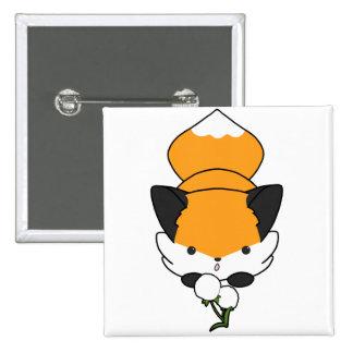 Fox excelente (llano) pin