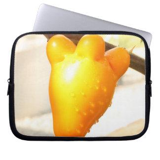 Fox Face Fruit Computer Sleeves