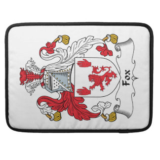 Fox Family Crest Sleeves For MacBook Pro