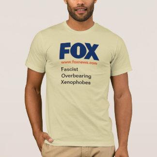 FOX - Fascist Overbearing Xenophobes, v2 T-Shirt