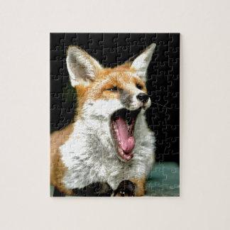Fox - favorable foto rompecabeza
