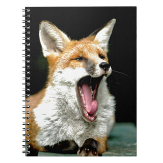Fox - favorable foto spiral notebooks