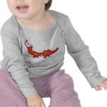 Fox feliz camisetas