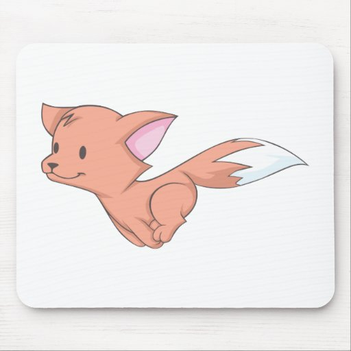 Fox feliz tapetes de ratones