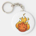 Fox Fire Key Chains