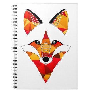 Fox Fire Spiral Notebook