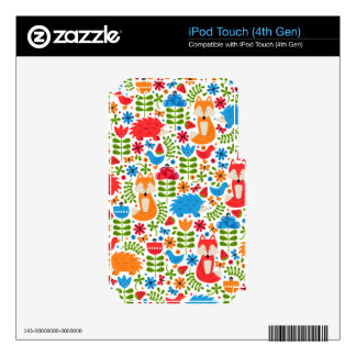 Fox Forest Skins For iPod Touch 4G