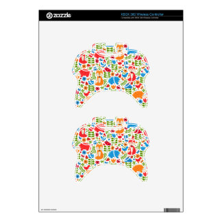 Fox Forest Xbox 360 Controller Skins