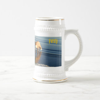 Fox, Fox, FOXY, COOL Beer Stein