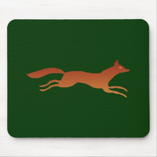 Fox fox mouse pad