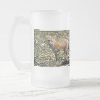 Fox  Frosted Mug